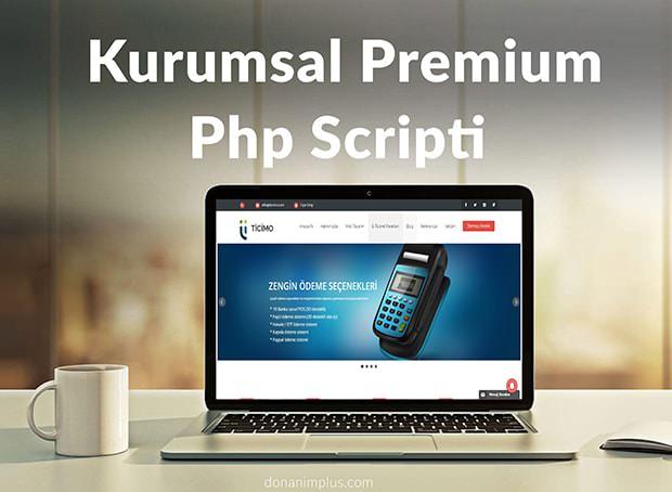 Kurumsal premium php scriptini Ücretsiz İndir donanim plus