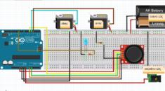 Arduino ile Joystick Modülü Kullanarak Çift Servo Kontrolü