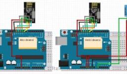 Arduino, Nrf24l01 ile DHT11 kullanarak Serial Monitörden Sıcaklık Bilgileri Okuma