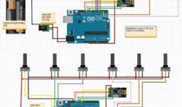 Arduino ile 6 Potansiyometre Kullanarak 6 Servo Kontrolü