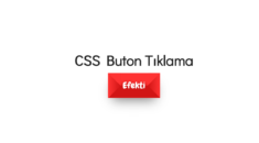 14 CSS Buton Tıklama Efekti