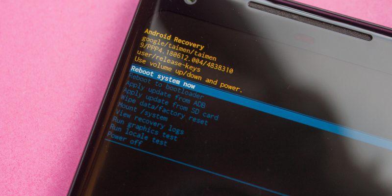 telefona format atma hard format işlemi