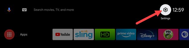 android tv yeniden başlatma
