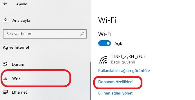 windows-10-ip-adresi-ogrenme-wifi