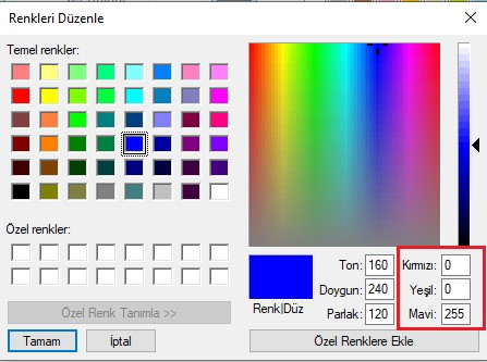 windows10-metin-rengi-ozellestirme-renk-sec