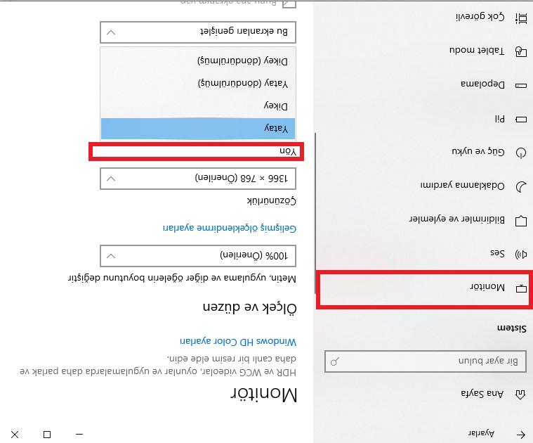 windows10-ters-ekran-ayarlar-moinitör