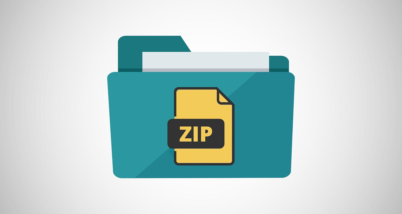 klasörü zip dosyasına çevirme