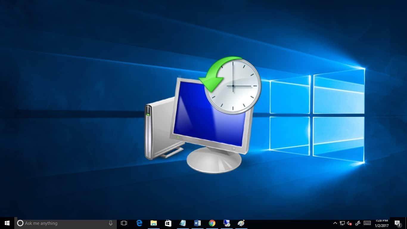 windows 10 sistem geri yükleme noktası oluşturma