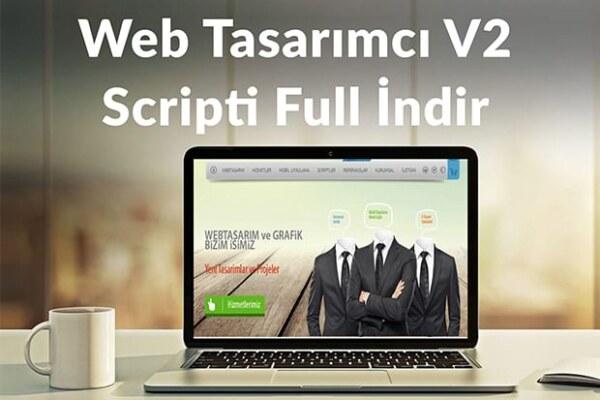 Web Tasarımcı V2 Scripti Full İndir