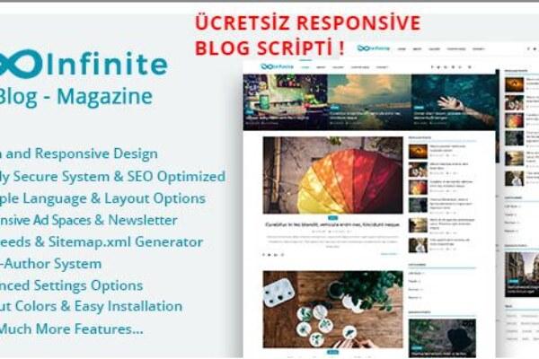 Blog Scripti İnfinite