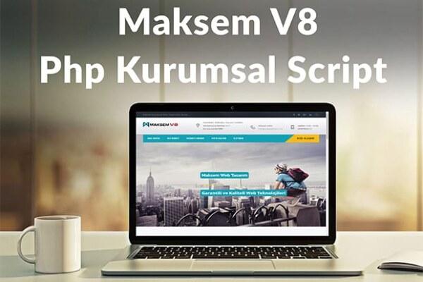 Maksem V8 Php Kurumsal Script İndir