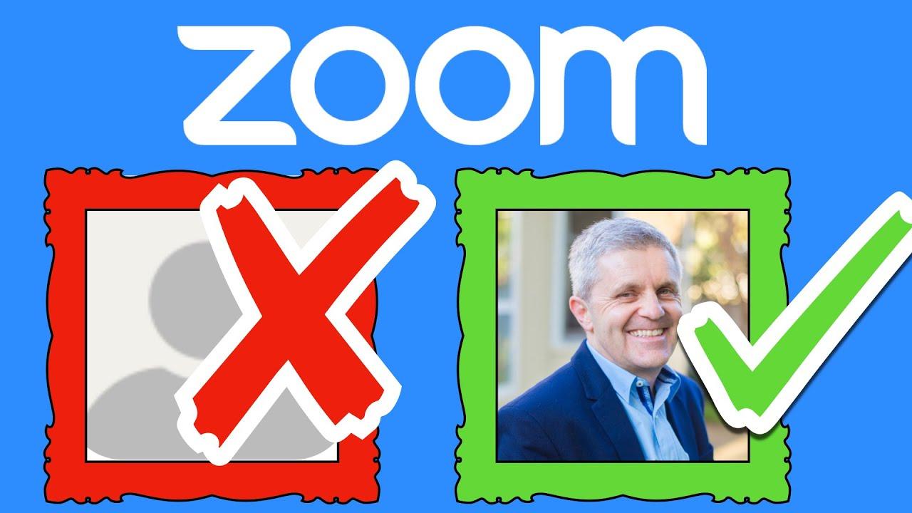 zoom profil resmi yapma